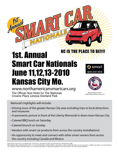 1st annual smart car nationals