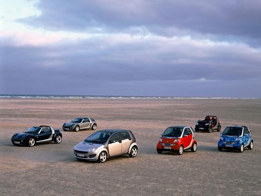 Smartville France All Smart Car Models